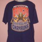 Denver Broncos Super Bowl XXXII 1998 Champons Size XL