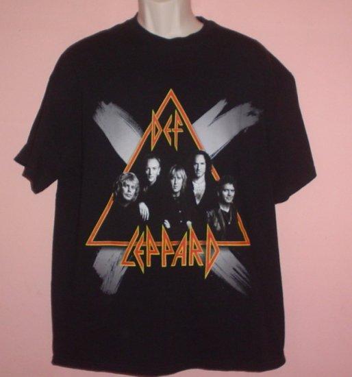 Def Leppard tour shirt Rock Music Tennessee River tee Size XL