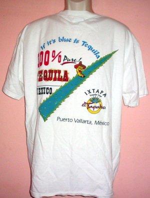 Tee shirt Tequila Tour El Tapatio Puerto Vallarta Mexico Size X Large XL