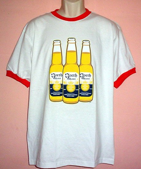 Surfing tee shirt NORTH SHORE Banzai pipeline backdoor Pupukea Size Large L