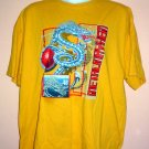 Gamers tee shirt Metallica Dragon cotton No Boundaries Size  2XL