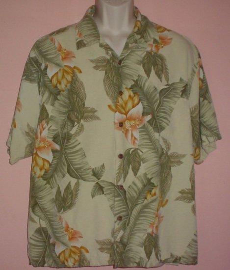Washable silk Hawaiian style shirt Jamaica Jax Extra large XL