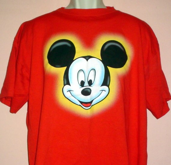New Mickey Mouse tee shirt Mickey Unlimited. Walt Disney cotton Size XL