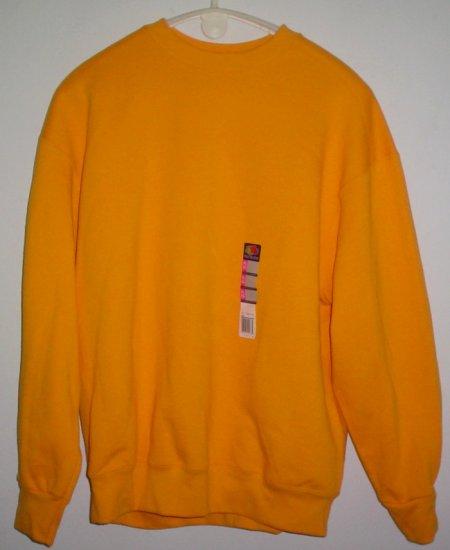 New Orange sweatshirt. Cotton Poly Fruit of the Loom Heavy Size Extra Large XL