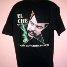 Che Guevara tee shirt HASTA LA VICTORIA SIEMPRE (Onward to victory) cotton Size Large L