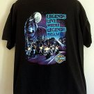 Vintage Harley Davidson tee shirt 1992 Lancaster Rodeo WHERE LEGENDS ROAM Size extra large XL
