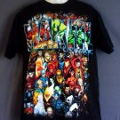 Marvel Comics Mad Engine tee shirt picturing all Marvel superheroes. Large L