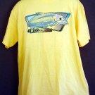 NEW Bonefish tee shirt  Hawaiian Traditions. Gildan Heavyweight cotton size large L