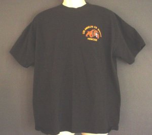 Los Angeles County Sheriffs Homicide tee shirt Size extra large XL