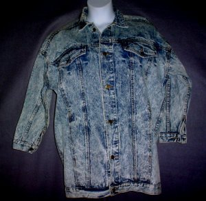 NEW Stone washed denim barn coat American Beauties Small S
