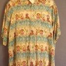 Vintage Pierre Cardin washable rayon Hawaiian sport shirt Marylyn Monroe,  extra large XL