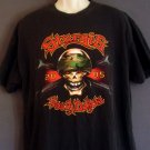 Motorcycle rally tee shirt Sturgis South Dakota 2005 Skull. Extra large XL