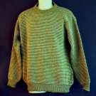 Vintage all wool sweater 1947 NOS Jaquard knit Jersild label Made in USA medium M