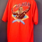 NOS vintage Hawaiian Strength tee shirt warrior Ke-Koa the courageous one. XXXL