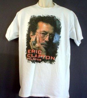 vintage Eric Clapton tour tee shirt Pilgrim tour Rock, blues music 1998 Size large