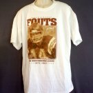 NEW Dan Fouts tee shirt. San Diego Chargers NFL Size XL