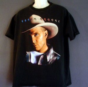 Vintage Garth Brooks tour tee shirt Fresh Horses 1995 XL