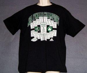 NEW Boston Celtics NBA 17 world championships Size medium