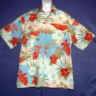 NEW Hawaiian sports shirt Pierre Cardin cotton floral XL