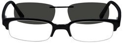 Product # 5002 Acetate Frame with Polarized Magnetic Snap on SunLens