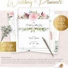 WEDDING PLANNER PDF | Bridesmaid Planner | Bride Planner | Printable Planner