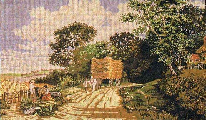 Vintage Kinetic's Harvest Time Tapestry/Needlepoint Kit