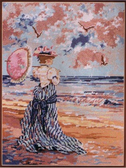 Candamar's Victorian Seashore Tapestry / Needlepoint Kit