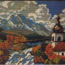 Creatique Church with a Steeple in the Mountains Needlepoint/Tapestry Kit ON SALE!!