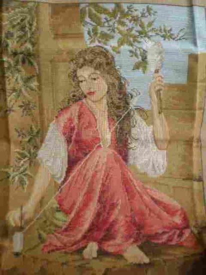 "Trammed/Tramme Kit Lady Spinning ""La Fileuse"""