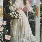 Romance for Roses designed by James Himsworth Victorian Lady with Flowers Crewel / Embroidery Kit