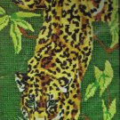 Spinnerin Needlepoint Stitchery kit Jungle Leopard by Diana Charles