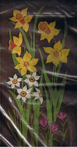 Paragon Daffodils and Flowers Crewel Kit