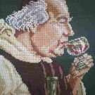 "Ropi Gobelin  Der Kellermeister ""The Winetaster"" portrait Needlepoint/Cross stitch/Tapestry Kit"
