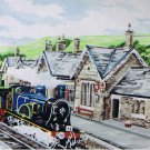 From the British Collection: Settle Railway Station Anchor Tapestry/Needlepoint Kit