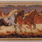 Dimensions Gold Collection Petites Stallions At Dusk Counted Cross Stitch Design