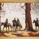DMC Dawn Riders Horseback Counted Cross Stitch Kit