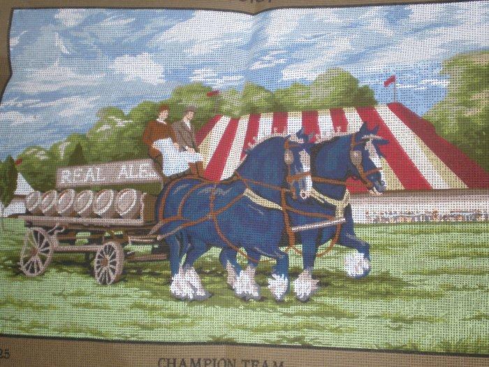 The Champion Team Needlepoint/Tapestry Kit