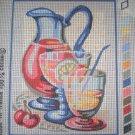 "SALE SEG Kitchen ""Summer Punch"" Needlepoint/Tapestry Starter Kit"
