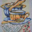"SALE SEG Kitchen ""Sugar Bowl"" Tapestry Needlepoint Starter Kit - Canvas and Yarn"
