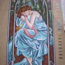 "Gobelin Mucha's ""La Nuit"" The Night Tapestry / Needlepoint Kit"