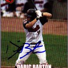 Daric Barton 2004 Midwest League All Star Autographed