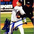 Matt Albers 2005 Just Stars Autographed