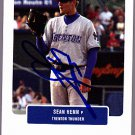 Sean Henn 2004 Just Prospects Autographed