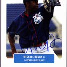Michael Bourn 2004 Just Prospects Autographed