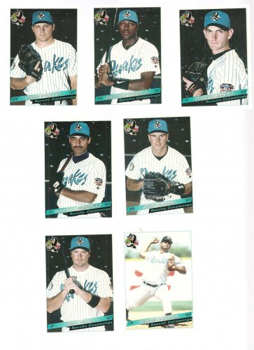 1997 Rancho Cucamonga Quakes Unopened Team Set Update