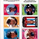 6 cards 1989 Baseball cards Magazine Insert Repli-Cards