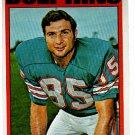 Nick Buoniconti 1972 Topps #43