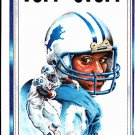 Barry Sanders 1990 Tuff Stuff #4 Neatly Hand cut