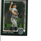 Andy Oliver  2010 Bowman Chrome Draft  BDP25