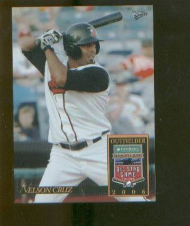 Nelson Cruz 2006 Pacific Coast All Star